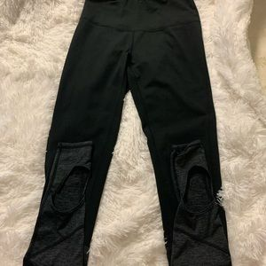 HIGH WAISTED ZELLA YOGA BLACK GREY SIZE S/P